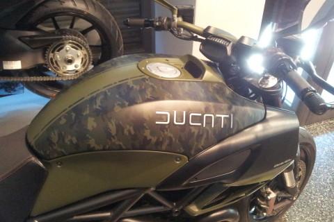 Ducati Diavel Mimetico